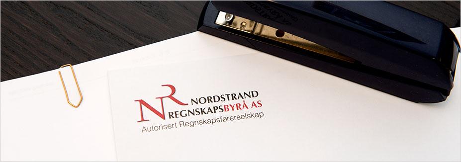 Illustrasjonsbilde for fakturering med logo til Nordstrand Regnskapsbyrå